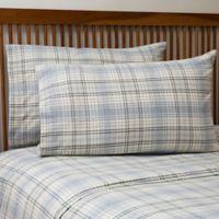 Cgg Home Fashions La Rochelle Queen Sheet Set in Cream/blue