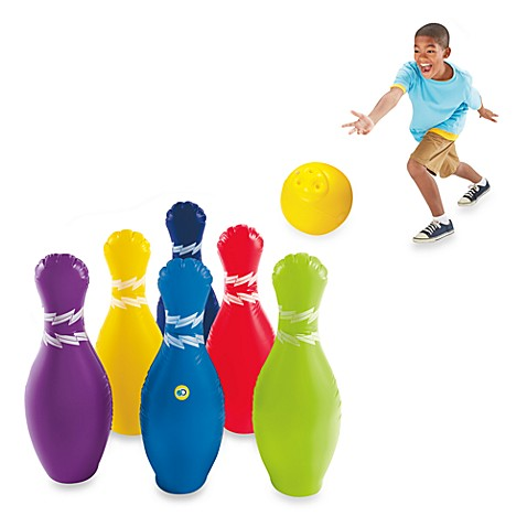 Discovery Kids Inflatable Bowling Set Bed Bath amp Beyond