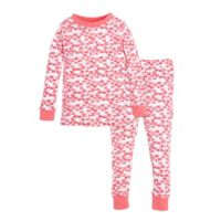 Burt's Bees Baby® Size 24M Butterfly Escape Footed Pajama in Pink