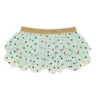 Baby Starters® Size 12M Foil Dot Tutu Skirt in Aqua