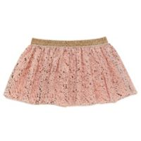 Baby Starters® Size 12M Foil Speckle Tutu Skirt in Pink/Rose Gold
