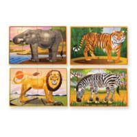 Melissa & Doug® Wild Animals Jigsaw Puzzle in a Box (Set of 4)