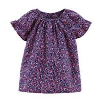 carter's® Size 2T Ruffled Raglan Top in Navy