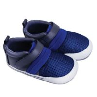 ro+me by Robeez® Size 18-24M Jake Athletic Sneaker in Blue/Grey