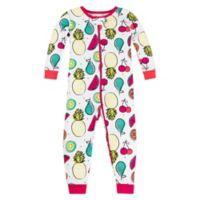Lamaze® Size 12M Long Sleeve Fruit Organic Cotton Pajama in White