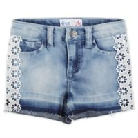 Freestyle Revolution Size 6M Miranda Crochet Short in Denim