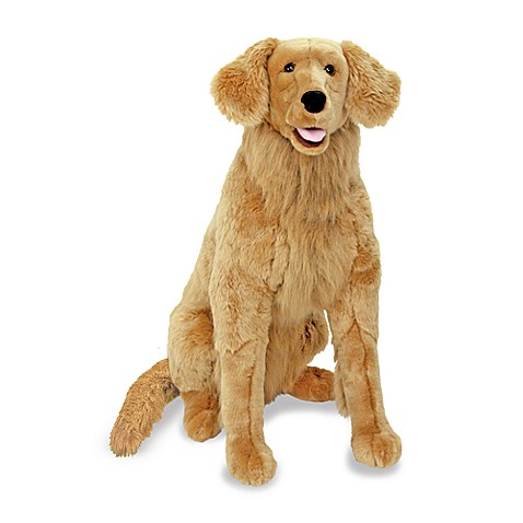 Melissa Amp Doug 174 Golden Retriever Dog Giant Stuffed Animal