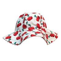 Toby Fairy™ Toddler Cherries/Gingham Reversible Sun Hat