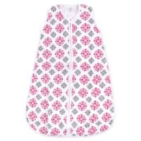 Yoga Sprout Size 6-12M Medallion Muslin Sleeping Bag in Pink
