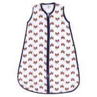 Yoga Sprout Size 6-12M Clever Fox Muslin Sleeping Bag in Orange