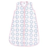 Yoga Sprout Whimsical Size 0-6M Muslin Sleeping Bag in White