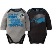 NFL Panthers Size 0-3M 2-Pack Bodysuit