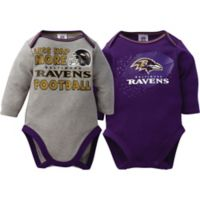 NFL Baltimore Ravens 2-Pack Bodysuit