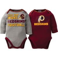 NFL Washington Redskins Size 18M 2-Pack Bodysuits