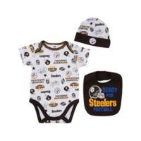 NFL Size 3-6M Minnesota Vikings 3-Piece Bodysuit Set