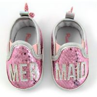 Rising Star™ Size 9-12M Mermaid Shoes in Pink