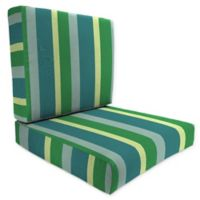Stripe 46-Inch x 25-Inch Deep Seat Chair Cushion in Sunbrella® Fabric