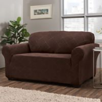 Shapely Diamond Slipcover Protector in Brown