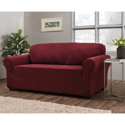 Buy Red Sofa Slipcovers   Bed Bath & Beyond