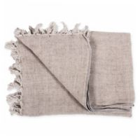 Moe's Home Collection Retreat Reversible Throw Blanket in Light Brown
