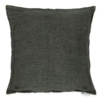 Moe's Home Collection Square Throw Pillow in Charcoal Grey