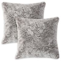 Morgan Home Square Throw Pillow in Taupe