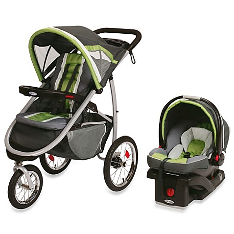 how to fold up graco click connect jogging stroller