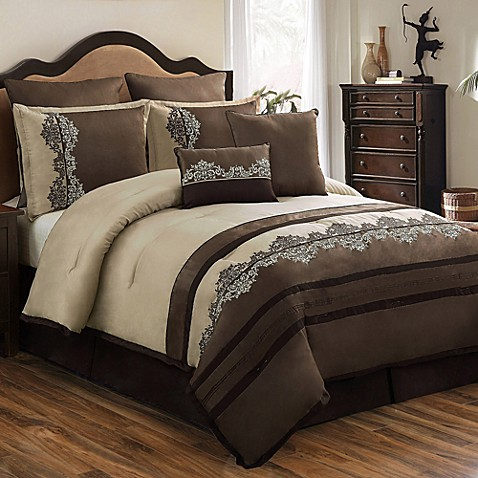 Leila 8-Piece Queen Comforter Set