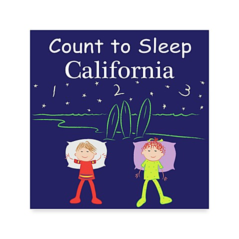 Count to Sleep Board Book in California