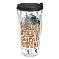 """Tervis® """"Measure Cut Swear Repeat"""" 24 oz. Wrap Tumbler with Lid"""