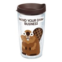 Tervis® David Olenick Beaver Business 16 oz. Wrap Tumbler with Lid