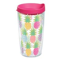 Tervis® Simply Southern Colorful Pineapples 16 oz. Wrap Tumbler with Lid