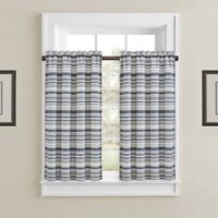 J. Queen New York™ Aedan 45-Inch Window Curtain Panels in Indigo (Set of 2)
