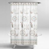 Avanti Our Nest 54-Inch x 78-Inch Stall Shower Curtain