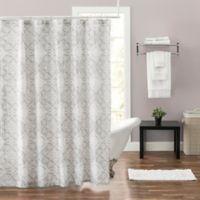 Felicity 54-Inch x 78-Inch Shower Curtain in Grey