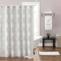 Felicity 72-Inch x 96-Inch Shower Curtain in Grey