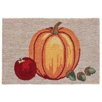 Liora Manne Pumpkin Indoor/Outdoor 1'8 X 2'6 Accent Rug in Natural