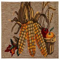 Liora Manne Corn 1'8 X 2'6 Indoor/Outdoor Accent Rug in Natural