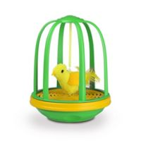 Pet Zone® Caged Canary™ Cat Toy in Green/Yellow