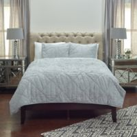 Rizzy Home Stirling Queen Quilt in Grey