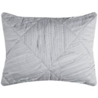 Rizzy Home Stirling King Pillow Sham in Grey