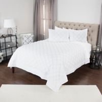 Rizzy Home Rappaport Queen Quilt in White