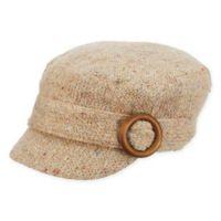 Scala™ Women's Knit Cadet Hat in Camel
