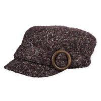 Scala™ Women's Knit Cadet Hat in Black