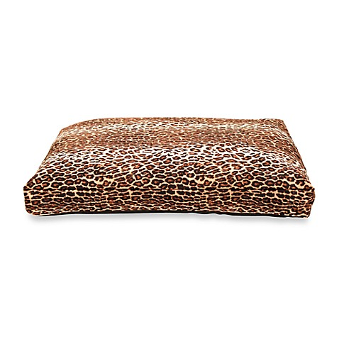 Best Friends by Sheri X-Large Standard Pet Bed in Leopard Brown