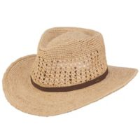 Scala™ Small/Medium Raffia Outback Hat in Natural