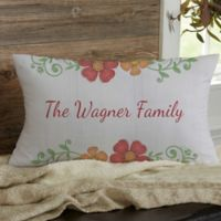 Precious Moments ® Floral Lumbar Throw Pillow