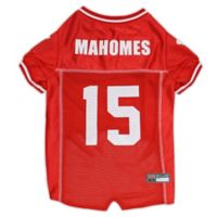 NFL Kansas City Chiefs Patrick Mahomes II Large Dog Jersey in Red