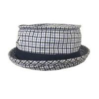 Toby Fairy™ Plaid Porkpie Hat in Blue