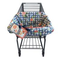 Boppy® Shopping Cart Cover in Navy Blooms